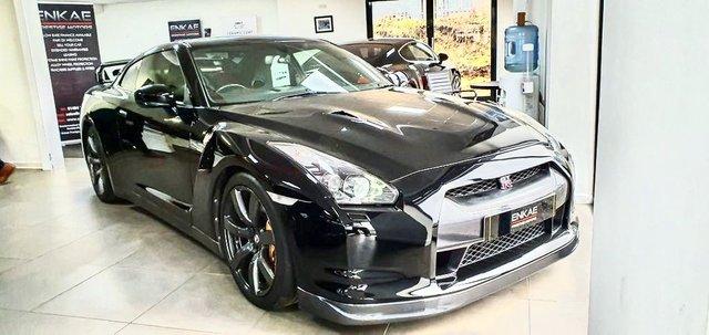 2009 09 NISSAN GT-R 3.8 BLACK EDITION 2d 479 BHP
