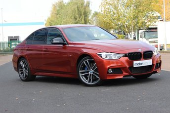 2017 BMW 3 SERIES 2.0 320D M SPORT SHADOW EDITION 4d 188 BHP £21995.00