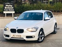 USED 2012 BMW 1 SERIES 2.0 120D SE 5d 181 BHP Full leather, Heated seats