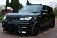 USED 2014 63 LAND ROVER RANGE ROVER SPORT 3.0 SD V6 HSE 4X4 (s/s) 5dr NAV+PAN ROOF+7 SEAT+RS LUMMA