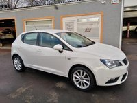 "USED 2016 16 SEAT IBIZA 1.0 VISTA 5d 74 BHP 16"" Alloys, Air Con, Bluetooth, AUX USB"
