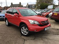 USED 2011 61 HONDA CR-V 2.2 I-DTEC SE PLUS 5d 148 BHP FULL MAIN DEALER SERVICE HISTORY (7 stamps)