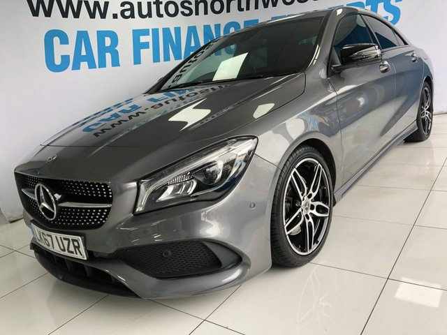 MERCEDES-BENZ CLA at Autos North West