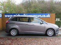 USED 2012 12 FORD GRAND C-MAX 1.6 TITANIUM TDCI 5d 114 BHP FSH, BLUETOOTH, AUX/ USB INPUT