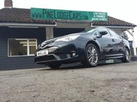 USED 2016 16 TOYOTA AVENSIS 2.0 D-4D BUSINESS EDITION 4d 141 BHP FINANCE AND PART EXCHANGE WELCOME. 3 MONTHS WARRANTY. ALL CARS HAVE A YEAR MOT AND A FRESH SERVICE.