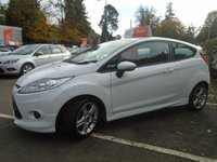USED 2011 11 FORD FIESTA 1.6 ZETEC S 3d 118 BHP GUARANTEED TO BEAT ANY 'WE BUY ANY CAR' VALUATION ON YOUR PART EXCHANGE