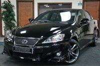 USED 2011 11 LEXUS IS 2.2 220D F-SPORT 4d 148 BHP