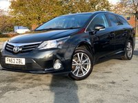 USED 2013 63 TOYOTA AVENSIS 2.0 D-4D ICON 5d 124 BHP