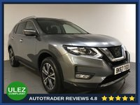 USED 2017 67 NISSAN X-TRAIL 1.6 DCI N-CONNECTA XTRONIC 5d 7 SEATS AUTO 130 BHP FULL HISTORY - 1 OWNER - 7 SEATS - PAN ROOF - SAT NAV - CAMERAS - REAR SENSORS - AIR CON - BLUETOOTH - DAB - PRIVACY