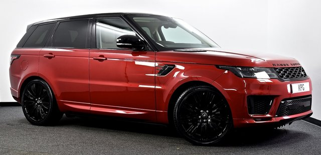 USED 2019 19 LAND ROVER RANGE ROVER SPORT 3.0 SD V6 HSE Auto 4WD (s/s) 5dr Cost New £75k with £9k Extra's