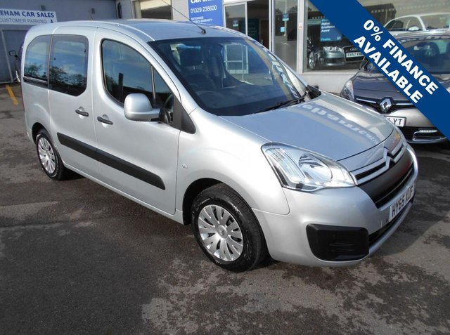 USED 2015 65 CITROEN BERLINGO MULTISPACE 1.6 BLUEHDI FEEL 5d 98 BHP IMMACULATE CONDITION