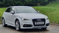 USED 2013 63 AUDI A3 1.4 TFSI S LINE 5d 139 BHP LOW MILEAGE ONLY 23,000 MILES