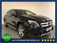 USED 2016 16 MERCEDES-BENZ GLA-CLASS 2.1 GLA220 CDI 4MATIC AMG LINE PREMIUM PLUS 5d AUTO 168 BHP FULL MERCEDES HISTORY - SAT NAV - PAN ROOF - LEATHER - PARKING SENSORS - CAMERA - AIR CON - BLUETOOTH - CRUISE