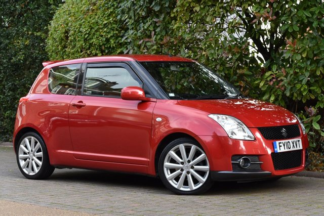 2010 10 SUZUKI SWIFT 1.6 SPORT 3d 125 BHP