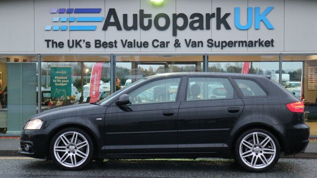 USED 2010 10 AUDI A3 1.6 TDI S LINE 5d 103 BHP LOW DEPOSIT OR NO DEPOSIT FINANCE AVAILABLE