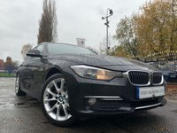 USED 2014 64 BMW 3 SERIES 2.0 320D LUXURY 4d 184BHP FSH+2KEYS+LEATHER+NAVIGATION+30 TAX+1 FORMER KEEPER+PRIVACY+CLIMATE+USB+