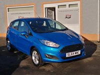 "USED 2014 64 FORD FIESTA 1.0 ZETEC 5d 99 BHP 15"" Alloys, Bluetooth, 1 Owner, 2 Service Stamps, Parking Sensors, Quick clear screen"