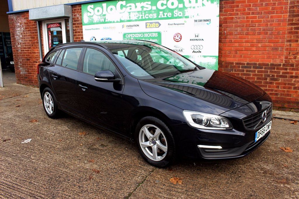 USED 2016 66 VOLVO V60 2.0 D2 BUSINESS EDITION 5d AUTO 118 BHP +AUTOMATIC +SAT NAV +FSH.