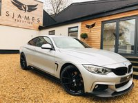 USED 2015 65 BMW 4 SERIES 2.0 420D M SPORT 2d 188 BHP