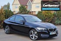 USED 2015 65 BMW 2 SERIES 2.0 218D SPORT 2d AUTO 148 BHP