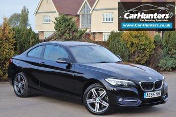 2015 BMW 2 SERIES 2.0 218D SPORT 2d AUTO 148 BHP £14495.00