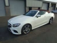 2017 MERCEDES-BENZ E CLASS 2.0 E 220 D AMG LINE 2d AUTO 192 BHP SAT NAV AIR SCARF LEATHER DIG RADIO 14000 MILES £29991.00
