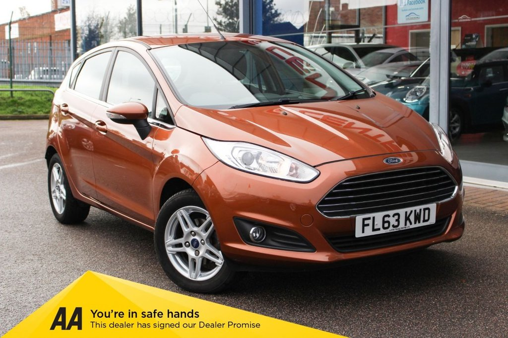USED 2013 63 FORD FIESTA 1.2 ZETEC 5d 81 BHP - ULEZ FRIENDLY, BLUETOOTH, ALLOYS & HEATED SCREEN