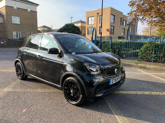 2016 16 SMART FORFOUR 1.0 EDITION BLACK 5d 71 BHP