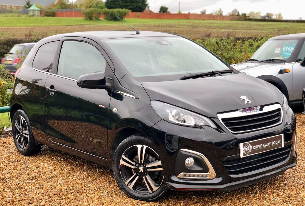 USED 2016 66 PEUGEOT 108 1.2 PURETECH GT LINE 3d 82 BHP 1 OWNER FROM NEW