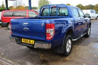 USED 2015 65 FORD RANGER 2.2 LIMITED 4X4 DCB TDCI 4d 148 BHP CREW CAB PICK UP