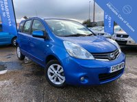 USED 2010 10 NISSAN NOTE 1.4 ACENTA 5d 88 BHP 1 Owner + 8 Main Dealer Services