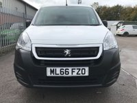 USED 2016 66 PEUGEOT PARTNER 1.6 BLUE HDI PROFESSIONAL L1 100 BHP