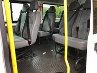 USED 2013 63 FORD TRANSIT T350 130PS 14 SEAT LWB MINIBUS