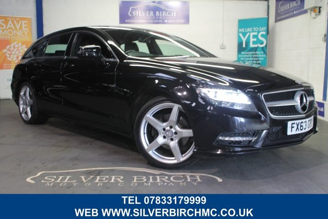USED 2013 63 MERCEDES-BENZ CLS 2.1 CLS250 CDI BLUEEFFICIENCY AMG SPORT 5d 202 BHP Comand, leather and H F Seats