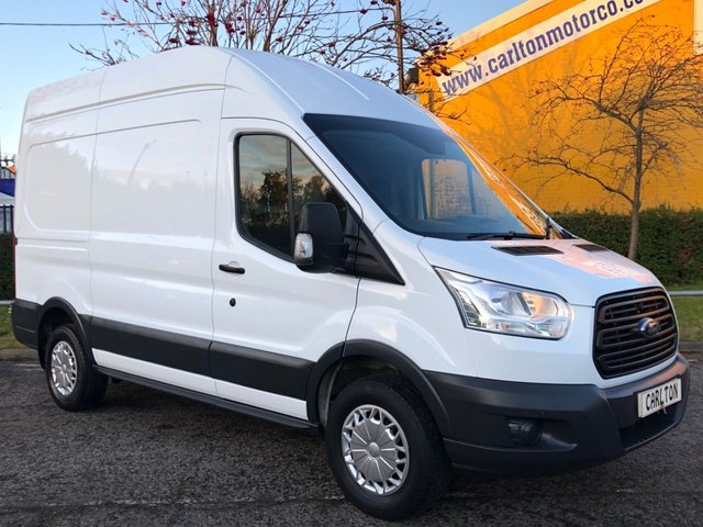 2016 65 FORD TRANSIT 350 TDCi 155 L2 H3 HIGH ROOF [ AIR CON ] VAN RWD