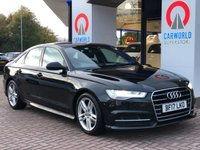 USED 2017 17 AUDI A6 2.0 TDI ULTRA S LINE 4d AUTO 188 BHP 1 OWNER | LEATHER | SAT NAV |