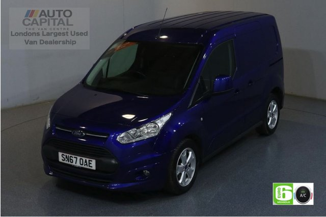 2017 67 FORD TRANSIT CONNECT 1.5 200 LIMITED 118 BHP SWB EURO 6 ENGINE AIR CON, REAR PARKING SENSORS, ALLOY WHEEL, HEATED DRIVER SEAT