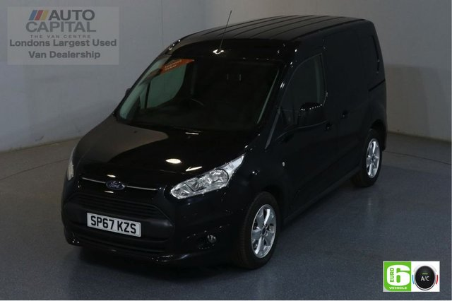2017 67 FORD TRANSIT CONNECT 1.5 200 LIMITED 118 BHP SWB EURO 6 ENGINE AIR CON, PARKING SENSORS, ALLOY WHEEL, HEATED DRIVER SEAT