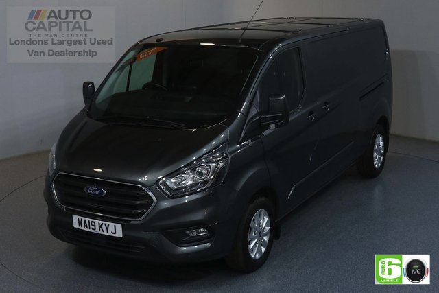 2019 19 FORD TRANSIT CUSTOM 2.0 300 LIMITED L2 H1 129 BHP EURO 6 ENGINE AIR CON, FRONT- REAR PARKING SENSORS, ALLOY WHEEL, HEATED SEATS