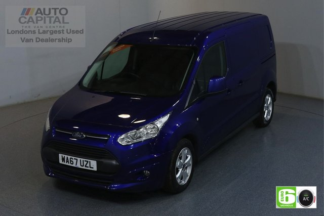 2017 67 FORD TRANSIT CONNECT 1.5 240 LIMITED 118 BHP LWB EURO 6 ENGINE AIR CON, REAR PARKING SENSORS, ALLOY WHEEL, HEATED DRIVER SEAT