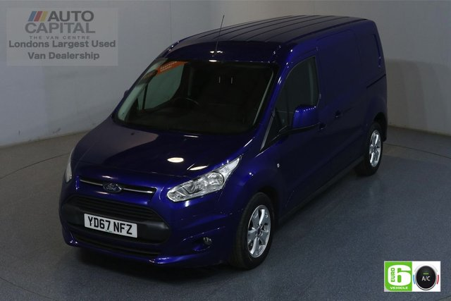 2017 67 FORD TRANSIT CONNECT 1.5 240 LIMITED 118 BHP LWB EURO 6 ENGINE AIR CON, REAR PARKING SENSORS