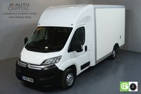 USED 2018 68 CITROEN RELAY 2.0 35 L3 BLUEHDI 161 BHP EURO 6 ENGINE LUTON AIR CON, HEATED FRONT SCREEN