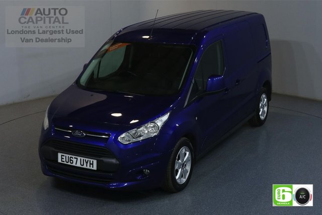 2017 67 FORD TRANSIT CONNECT 1.5 240 LIMITED 118 BHP LWB EURO 6 ENGINE AIR CON, PARKING SENSORS, HEATED DRIVER SEAT, ALLOY WHEELS