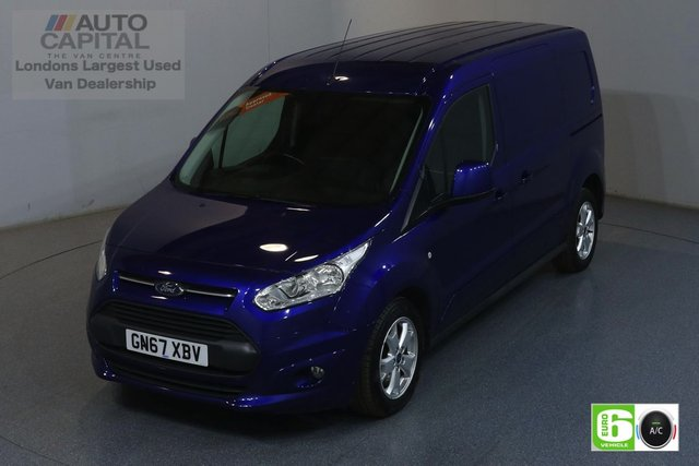 2017 67 FORD TRANSIT CONNECT 1.5 240 LIMITED 118 BHP LWB EURO 6 ENGINE AIR CON, REAR PARKING SENSORS, HEATED DRIVER SEAT, ALLOY WHEELS