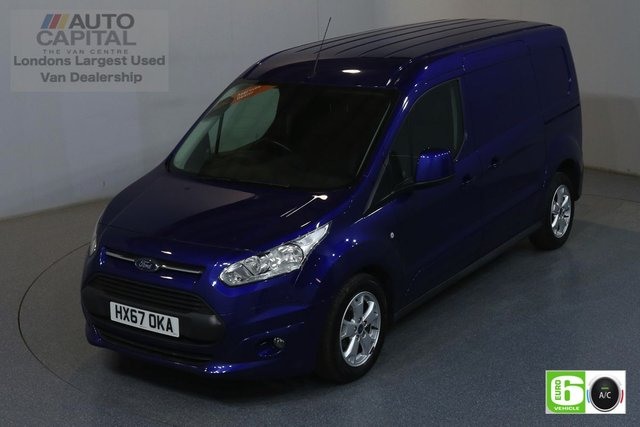 2017 67 FORD TRANSIT CONNECT 1.5 240 LIMITED 118 BHP LWB EURO 6 ENGINE AIR CON, PARKING SENSORS, ALLOY WHEEL, HEATED DRIVER SEAT