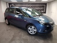 2014 VAUXHALL ZAFIRA TOURER 2.0 EXCLUSIV CDTI 5d AUTO + SERVICE HISTORY + 2 KEYS £5750.00