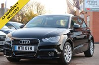 USED 2011 11 AUDI A1 1.4 TFSI SPORT 3d 122 BHP MOT UNTIL OCTOBER 2020, FINANCE AVAILABLE