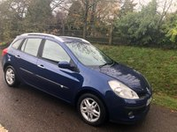 USED 2009 09 RENAULT CLIO 1.5 DYNAMIQUE DCI 5d 85 BHP **LONG MOT**FULL SERVICE HISTORY**£30 A YEAR ROAD FUND**CAMBELT & WATER PUMP RENEWED**