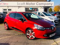 2014 RENAULT CLIO 1.5 Dynamique S MediaNav Energy DCI S/S Diesel £6199.00