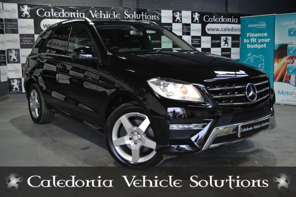 USED 2012 62 MERCEDES-BENZ M-CLASS 2.1 ML250 BLUETEC SPORT 5d 204 BHP ONE FORMER KEEPER with A JUNE 2020 MOT & LOW MILEAGE